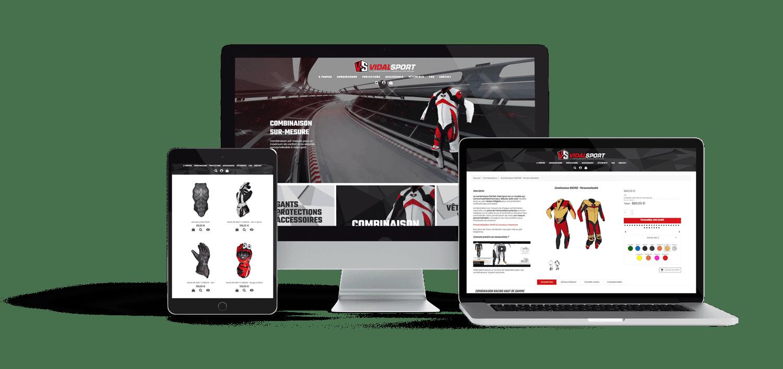 Site e-commerce responsive prestashop