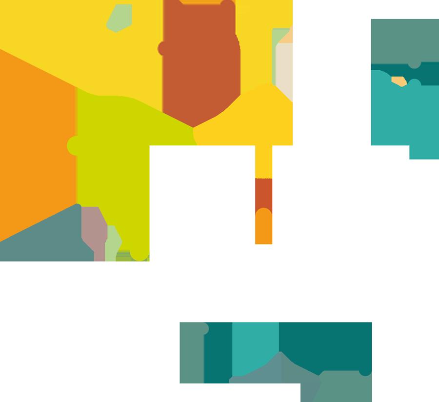 création d'identité visuelle pour cluster trans ten