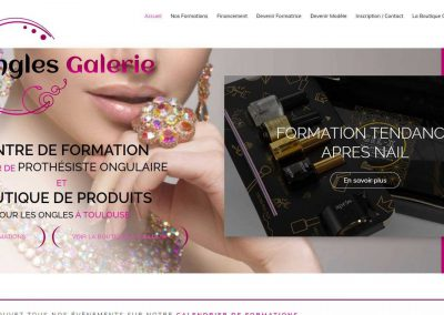 Ongles galerie